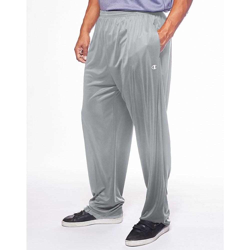 32e661b6 Champion Men's Big & Tall Performance Open Bottom Pant