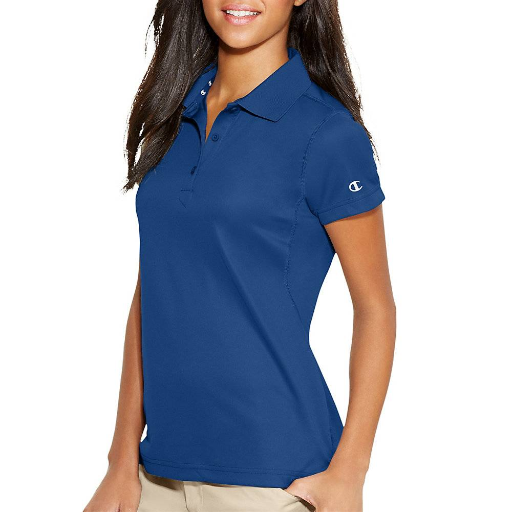 10cd5a5c64e0 Home Brands Champion Double Dry Ultimate Women Polo. Champion