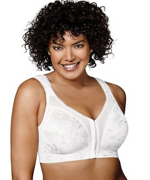 9ad6e76066015 ... 18 Hour  Easier On  Front-Close Wirefree Bra with Flex Back. 5 1.  Playtex
