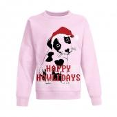 Happy Howlidays/Paleo Pink