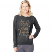 Baby Its Cold Outside/Slate Heather
