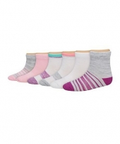 Hanes Toddler Girls' Ankle Socks