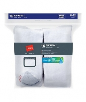 Hanes Ultimate Men's Cushion Crew Socks