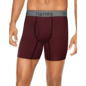 Hanes Men's Comfort Flex Fit Ultra Soft Cotton Stretch Boxer Briefs