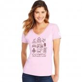 Olympic/Symbols/Paleo Pink