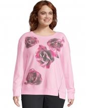 Big Floral Message/Paleo Pink