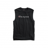 Champion Men's Classic Jersey Muscle Tee, Script Logo