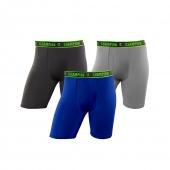 Champion Men's Active Performance Long Leg Boxer Brief