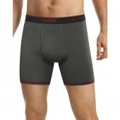 Hanes Men's FreshIQ Cool Comfort Breathable Mesh Boxer Brief Bonus Pack
