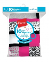 Hanes Girls' Cotton Hipsters