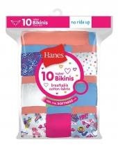 Hanes Girls' Cotton Bikinis