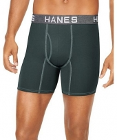 Hanes Ultimate Men's Comfort Flex Fit Ultra Soft Cotton/Modal Boxer Briefs