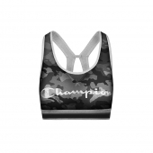 Champion Women The Authentic Sports Bra-Distressed Script