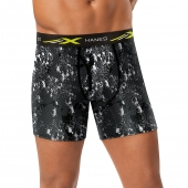 Hanes X-Temp 4-Way Stretch Mesh Performance Boxer Briefs