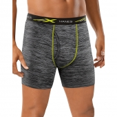 Hanes X-Temp Mesh Performance Space Dye Boxer Briefs