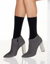 Hanes Perfect X-Temp Opaque Mid Calf Socks