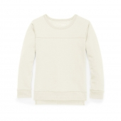 Hanes Girls' High-Low Sweatshirt