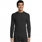 Hanes Ultimate Organic Cotton Men's Thermal Crewneck
