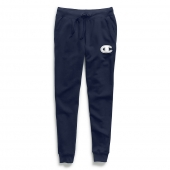 Champion Women's Powerblend and Fleece Joggers, Chainstitch C Logo