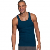 Hanes Men's FreshIQ and ComfortSoft and Dyed Assorted Colors Tank Undershirt 5-Pack