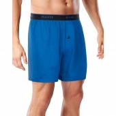 Hanes Men's FreshIQ and Cool Comfort and Breathable Mesh Boxer Briefs 4-Pack