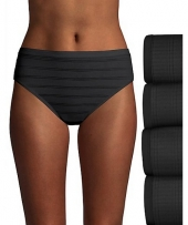 Hanes Ultimate Comfort Flex Fit and Hi-Cut 4-Pack