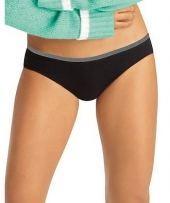 Hanes Women's Breathable Cotton Stretch Bikini 10-Pack