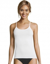 Hanes Women's Cotton Stretch Cami 3-Pack