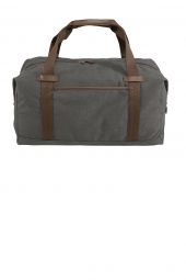 Port Authority Cotton Canvas Duffel. BG803