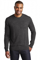 Port Authority Marled Crew Sweater. SW417