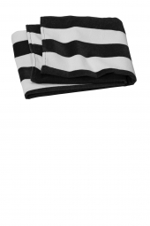 Port Authority Value Cabana Stripe Beach Towel PT45