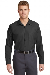 Red Kap Long Size, Long Sleeve Industrial Work Shirt. SP14LONG
