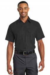 Red Kap Short Sleeve Solid Ripstop Shirt. SY60