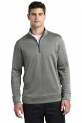 Sport-Tek PosiCharge Sport-Wick Heather Fleece 1/4-Zip Pullover. ST263