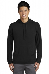 Sport-Tek PosiCharge Tri-Blend Wicking Fleece Hooded Pullover. ST296