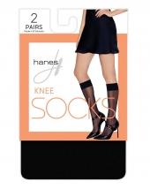 Hanes Knee High Socks, 2-pack