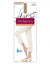 Hanes Silk Reflections Sheer Liners 6-Pack