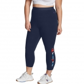 Plus Authentic 7/8 Tights, Multicolor Logo
