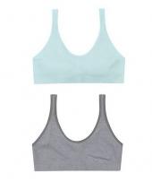 Heather Grey/Blue Spearmint