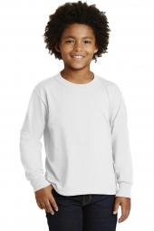 Jerzees 29BL DISCONTINUED Youth Dri-Power Active 50/50 Cotton/Poly Long Sleeve T-Shirt