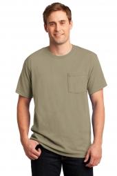Jerzees 29MP Dri-Power 50/50 Cotton/Poly Pocket T-Shirt