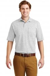 Jerzees 436MP -SpotShield 56-Ounce Jersey Knit Sport Shirt with Pocket
