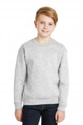 Jerzees 562B Youth NuBlend Crewneck Sweatshirt