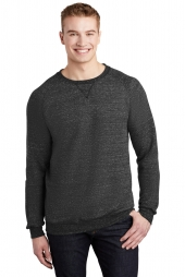 Jerzees 91M Snow Heather French Terry Raglan Crew