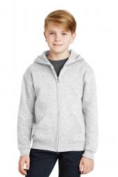 Jerzees 993B Youth NuBlend Full-Zip Hooded Sweatshirt