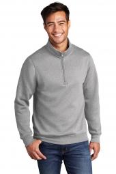 Port & Company PC78Q Core Fleece 1/4-Zip Pullover Sweatshirt