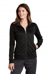 Sport-Tek LST94 Ladies Tricot Track Jacket