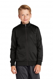 Sport-Tek YST94 Youth Tricot Track Jacket