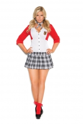 Elegant Moments 9113 Dean List Diva Costume - 2 Pc
