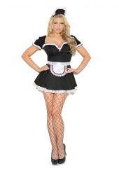 Elegant Moments 9132 Maid To Please Costume - 3 Pc